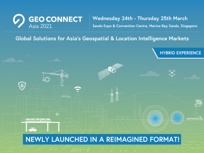 Geo Connect Asia 2021 to debut in Singapore in reimagined format